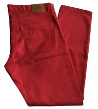 bc7a4aca03553d Mens Pants Lacoste Red Jeans Chinos Trousers 38 38 34 FR 48 Stretch Fit Ne
