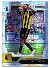 Panini Premier League PRIZM (HYPER Parallel) Troy Deeney Watford No. 115