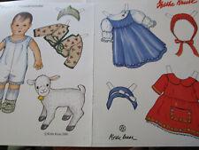 Vtg Kathe Kruse PUPPE I HEMDENMATZ Magazine Paper Doll Uncut