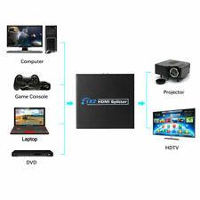 SPLITTER HDMI SDOPPIATORE FULL HD 1080P UHD 4K 3D 1x2 2 USCITE HDMI AMPLIFICATE