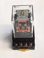 Mk3p I Mk3p Dc 110v 110vac Relay 11 Pin 10a 250vac Amp Pf113a Socket Base