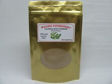 Licorice Root Powder (Glycyrrhiza glabra) NO fillers or Additives 8oz Free Ship