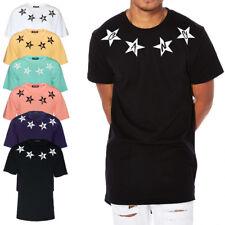Camiseta de hombre Larga 100 % Algodón Casual 6 Colores Gang Made In Italy