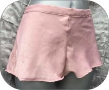 EX-Store Rosa Shocking Vita Bassa Pantaloncini tagliati al laser Slip Slip Taglia 10 12 14