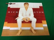 "Michael Lington A Song For You Promo Poster Flat 12""x12"" Piranha Records"