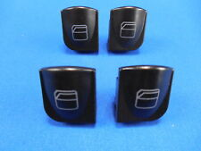 4 Pieces Window Switch Button Cover Front Left Door (Driver Side) for Mercedes
