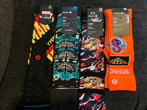 Stance Mens Socks Lot Of 4 Size M/L
