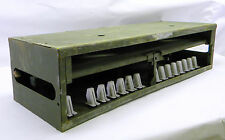 Military Surplus Small Arms Storage Rack/ Box for M9 Beretta 9MM / M11 Sig Used