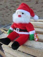 "TY Beanie Baby SANTA Claus St Nick Kris Kingle Santy approx 6"" tall  Plush 1998"