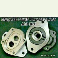 Jcb Parts - Hydraulic Pump Flange Plate (Parker Pump Spline Models Only)