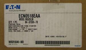 EATON CUTLER HAMMER ECN0518EAA 208V AN19DN0 Size 1 Starter Nema 12 Enclosure