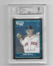 2006 BOWMAN DRAFT PICKS CHROME JON STILL #DP27 BECKETT MINT 9 BOSTON REDSOX
