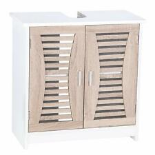 Bathroom Under Sink Cabinet Basin Pedestal Storage Cupboard With Shelves