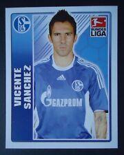 Topps 374 Fussball BL 2009/10 Vicente Sanchez FC Schalke 04
