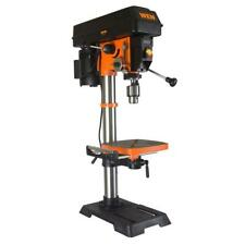 WEN Drill Press 12 in. Locking Linear Depth Stop Variable Speed Work Light
