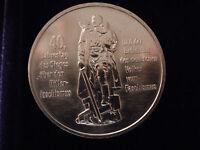 """10 Mark DDR Gedenkmünze """"40.Jahrestag der Befreiung vom Faschismus"""" 1985, stemp."""