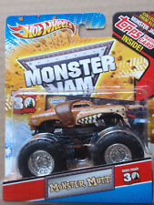 Hot Wheels Monster Jam MONSTER MUTT Topps Trading Card Series