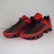 Nike SHOX NZ TLX Running Shoes BLACK RED Men Size 8.5