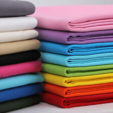 Soft Pure Cotton Duck Canvas Fabric Plain Solid Colour 8oz Material 148cm Wide