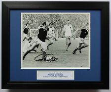 FRAMED Archie Gemmill Scotland 1978 World Cup SIGNED Autograph Photo Mount COA