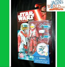 X-Wing Pilot Asty Star Wars 3.75 Action Figure The Force Awakens Wave 2