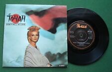 "Toyah Don't Fall In Love / Snow Covers The Kiss A6160 7"" Single"