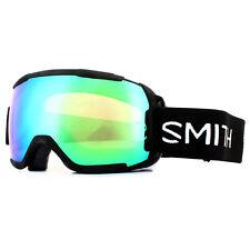 Smith Ski Goggles Showcase OTG M006709PC99XP Black Chromapop Everyday Green Mirr