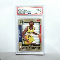 2007 Fleer #RS2 Rookie Sensations Kevin Durant - PSA 9 Mint Seattle Supersonics