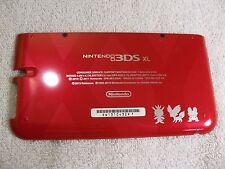 Red Pokemon Nintendo 3DS XL Housing Back/Bottom Battery Cover Shell Part