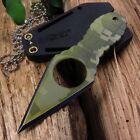 "NECK KNIFE | Mtech 4.25"" Fixed-Blade Self Defense Tactical Dagger Army Camo"