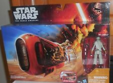 Star Wars The Force Awakens REYS SPEEDER JAKKU Misb New Disney