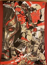 Vincent Aseo The Avengers Age Of Ultron Marvel Art Print Poster /50 Thor Mondo