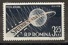 ROMANIA 1958 SPACE EARTH SPUTNIK SC # C56 MNH