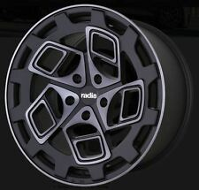 19X10 Radi8 R8CM9 5x112 +42 Dark Mist Wheels (Set of 4)