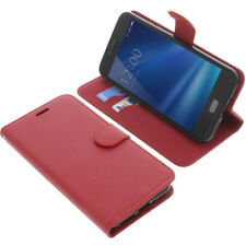 Tasche für UMIDIGI C Note 2 Book-Style Schutz Hülle Handytasche Buch Rot