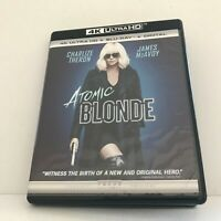 2017 Atomic Blonde Charlize Theron 4K Ultra HD Disc (No Blu-Ray/No Digital )