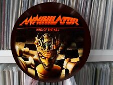 """ANNIHILATOR- KING OF THE KILL Mega Rare 12"""" Picture Disc Single Demo LP"""