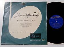 Bach - Magnificat D-Dur - Reinhardt - 50er LP m- Opera Phantheon 1036