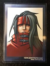 Final Fantasy Art Museum Rare Card Vincent Valentine SP09 Free Shipping