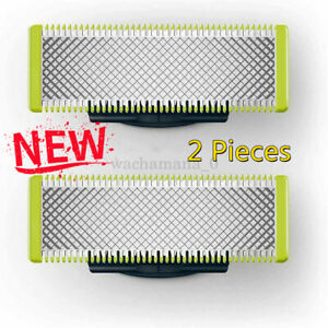 For NEW Philips-QP220-50 OneBlade 2Pack Blades Replacement Beard Shaving Head