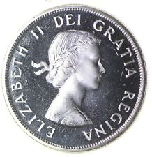 Silver Dollar 80% 1963 Canada Canadian ASW .60 Troy Ounces *340