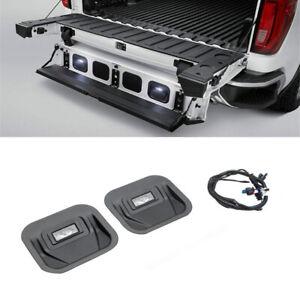 For 2019-21 GMC Sierra 1500 2020-21 2500HD & 3500HD LED Tailgate Step Light Kit