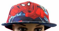 Marvel Comics The Ultimate Spider-Man Kids Boys Red Snapback NWT