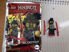 LEGO  NINJAGO LIMITED EDITION  SCOOTER MINIFIGURE FOIL BAG