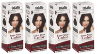 CoSaMo Hair Color #779 Dark Brown - Compares to Clairol Loving Care #79 (4 Pack)