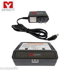 7.4V Battery Charger-MJX X101 X600/T23 T39 T640 C/F39 F45 F49 F645 RC Drone/Heli