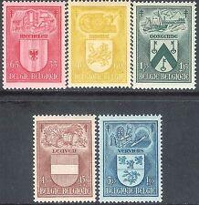 Belgium 1946 Anti-TB set of 5 mint SG1195/1196/1197/1198/1199 (5)