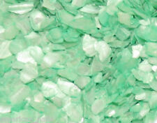 1 boite Paillette de NACRE Vert d'eau bijoux d'ongle shell water green Nail Art
