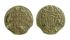 pcc1996_2) Stato Pontificio Ferrara Benedetto XIV (1740-1758) mezzo baiocco 1745
