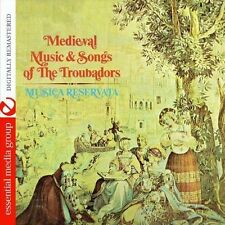 Musica Reservata - Medieval Music and Songs of the Troubadors [New CD] Manufactu